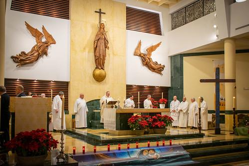 Visita Cruz Lampedusa parroquia Sta. María de la Amargura - 09