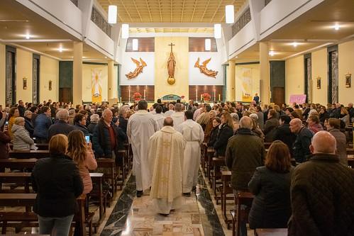 Visita Cruz Lampedusa parroquia Sta. María de la Amargura - 06