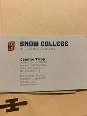 Snow College, Spring 2019