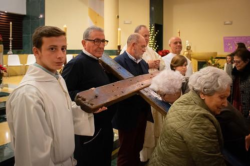 Visita Cruz Lampedusa parroquia Sta. María de la Amargura - 61