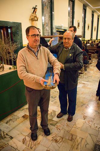 Visita Cruz Lampedusa parroquia Sta. María de la Amargura - 01