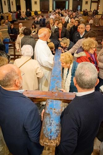 Visita Cruz Lampedusa parroquia Sta. María de la Amargura - 67