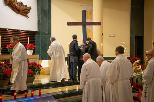 Visita Cruz Lampedusa parroquia Sta. María de la Amargura - 08