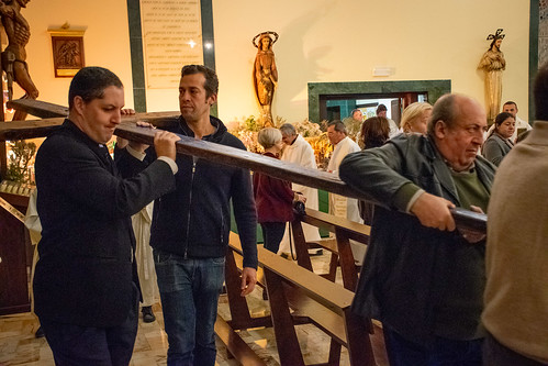Visita Cruz Lampedusa parroquia Sta. María de la Amargura - 03