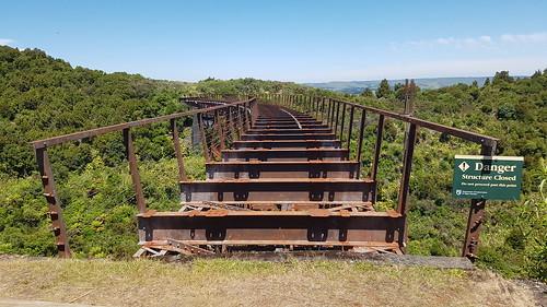 The old Taonui viaduct