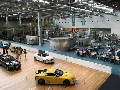 overview of automobile pavilion