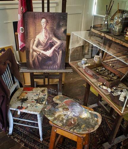 5/366 Sir William Dobell's studio