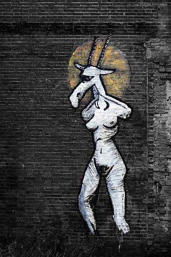 Mural 'Baphomet'
