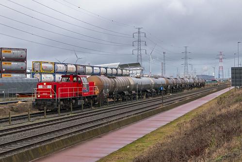 Antwerpen Waaslandhaven, 3 januari 2020 | DB Cargo 6503