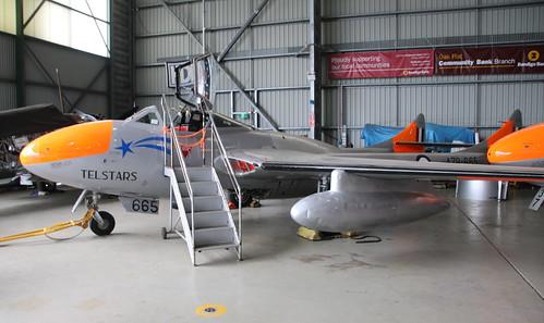 de Havilland DH115 Vampire A79-665 Illawarra 05/10/19