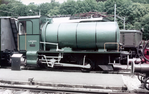 swiss - preserved 0-4-0f lonza 2 luzern transport museum