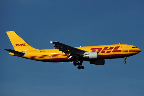 D-AEAE(cn 753)Airbus A-300B4-622R /F DHL (European Air Transport - EAT)