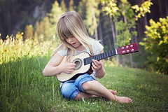 Person Human Child Girl Blond