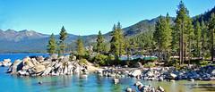 Tranquility at Sand Harbor, Lake Tahoe, NV 9-10