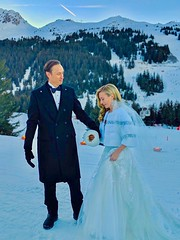 Winter Wedding Promenade