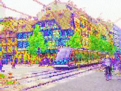 Street and Tram Strasbourg