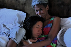 Eden & Janine in Hotel Bed I