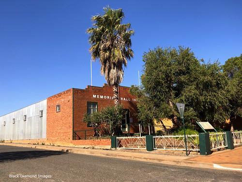 Memorial Hall Built 1957, Lake Cargelligo, Wiradjuri Country, Central West, NSW