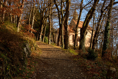 Vers la chapelle