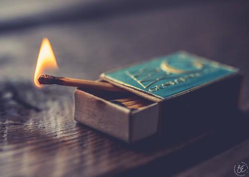 ~Keep a little fire burning; however small, however hidden.