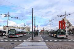 TCL / Irisbus Cristalis ETB18 n°2909 et Irisbus Citelis 18 n°2024