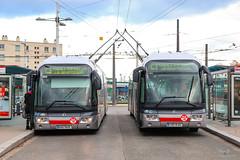 TCL / Irisbus Cristalis ETB18 n°1908 et Irisbus Cristalis ETB18 n°1904