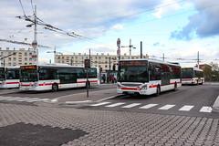 TCL / Irisbus Citelis 12 n°3149, Iveco Urbanway 12 n°2716 et Irisbus Agora Line n°1329