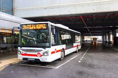 TCL / Iveco Urbanway 12 n°2447 et Iveco Urbanway 12 n°3061