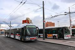 TCL / Irisbus Cristalis ETB18 n°1904 et Irisbus Citelis 18 n°2009