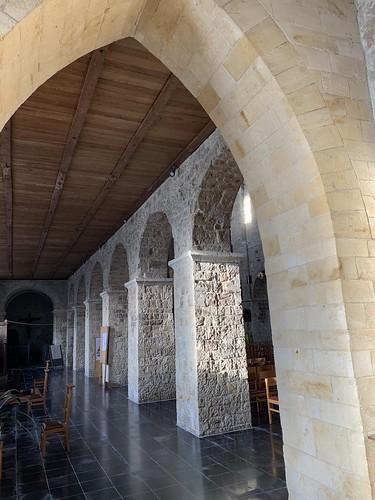 Norman arch in Église Sainte-Adèle-et-Saint-Martin d'Orp-le-Grand Catholic Church