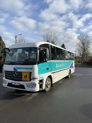 Mercedes school bus