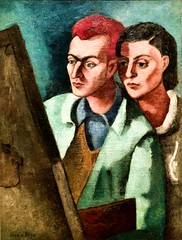 Altberg Painter and his wife (1932) - Mário Eloy (1900-1951)