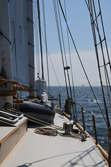 Another Sail in the Distance Aboard the Schooner Huron Jewel