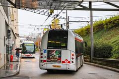 TCL / Irisbus Cristalis ETB12 n°1855 et Irisbus Cristalis ETB12 n°1852