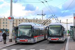 TCL / Irisbus Cristalis ETB18 n°2909 et Irisbus Cristalis ETB18 n°1904