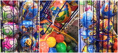 Balls in the toy store