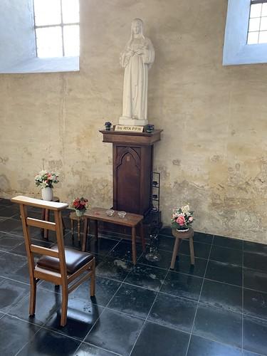 A spiritual place in Église Sainte-Adèle-et-Saint-Martin d'Orp-le-Grand