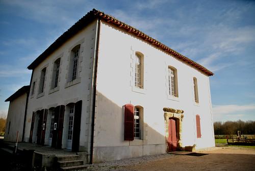 La maison des Barthes à la plaine d'Ansot, Bayonne.
