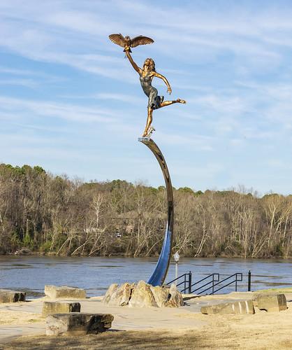 Manderson Landing Minerva Statue