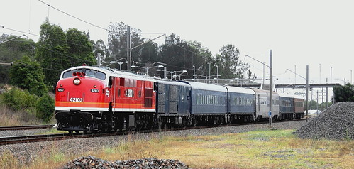 42103 #8L03 EMPTY CARS EX BRANXTON TO HAWKESBURY RIVER - TERALBA 6th Jan 2020 (2).