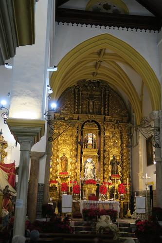 Iglesia de Santa María - Retablo mayor