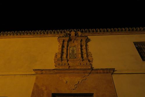 Iglesia de Santa María - Detalle de la portada de la Cilla