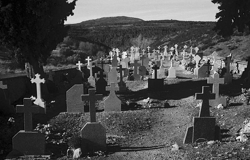 Alpedrete de la Sierra, cementerio e Iglesia Parroquial.