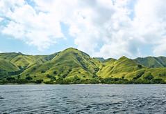 Sailing around the Komodo and Rinca island in Flores, Nusa Tenggara, Indonesia