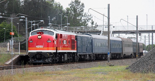 42103 #8L03 EMPTY CARS EX BRANXTON TO HAWKESBURY RIVER - TERALBA 6th Jan 2020.