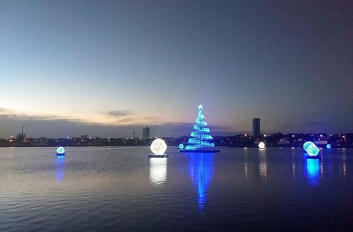Ainda é Natal na Lagoa Grande