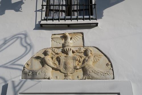 Palacio del Conde-Duque - Escudo