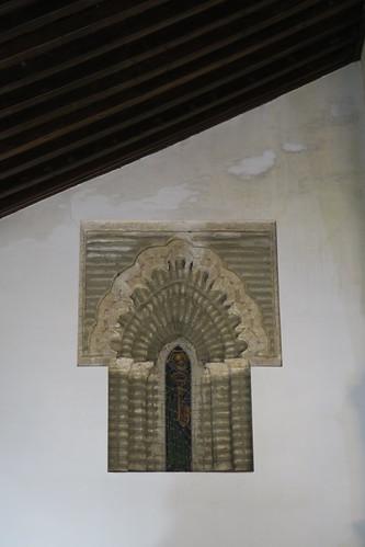 Iglesia de Santa María - Interior de ventana