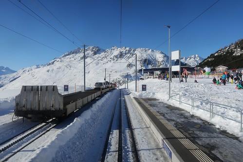 MGB - Station Nätschen Oberalp