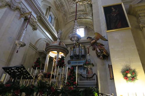 Iglesia de San Juan Bautista - Capilla mayor